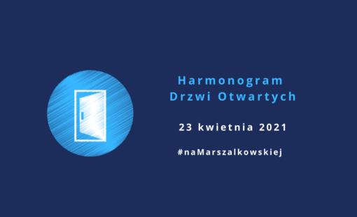 Drzwi Otwarte - harmonogram