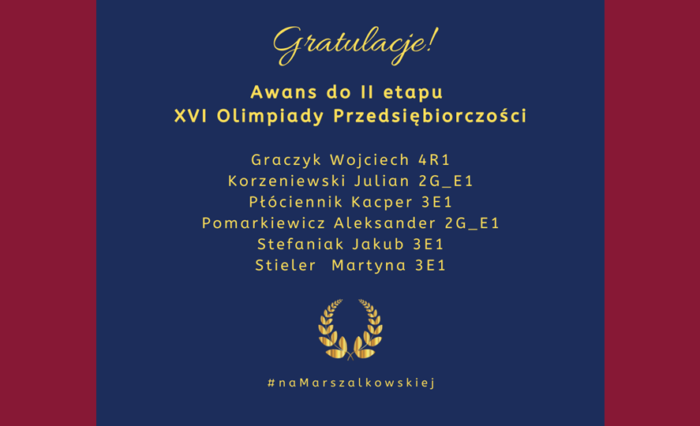 Gratulujemy i podziwiamy!