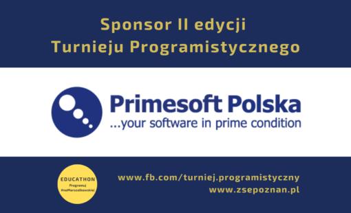 Witamy Sponsora Turnieju Programistycznego!