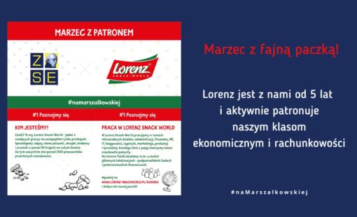 Marzec rozpoczynamy z fajną paczką - paczką newsów od @Lorenz Snack-World Kariera!