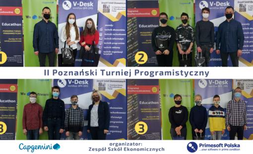 Najlepsi programiści ze szkół podstawowych w Poznaniu i powiecie poznańskim!