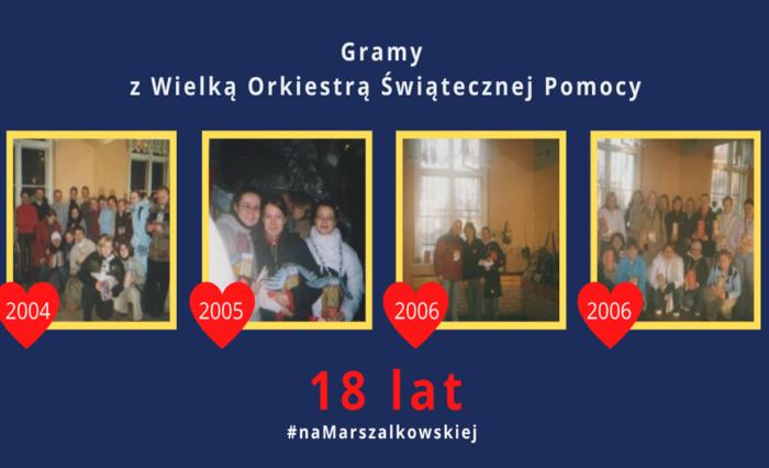 Wolontariusze z Marszałkowskiej!