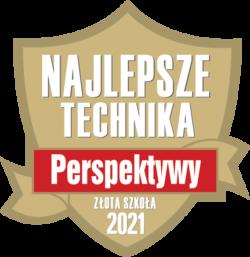 """Fundacja Edukacyjna """"Perspektywy"""" potwierdza, że  Technikum Ekonomiczno-Administracyjne nr I w ZSE w Poznaniu jest wśród najlepszych techników w Polsce sklasyfikowanych w Rankingu Szkół Ponadgimnazjalnych PERSPEKTYWY 2021 i przysługuje mu tytuł Złotej Szkoły 2021"""