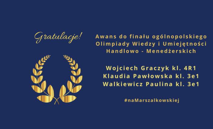 Serdeczne gratulacje!